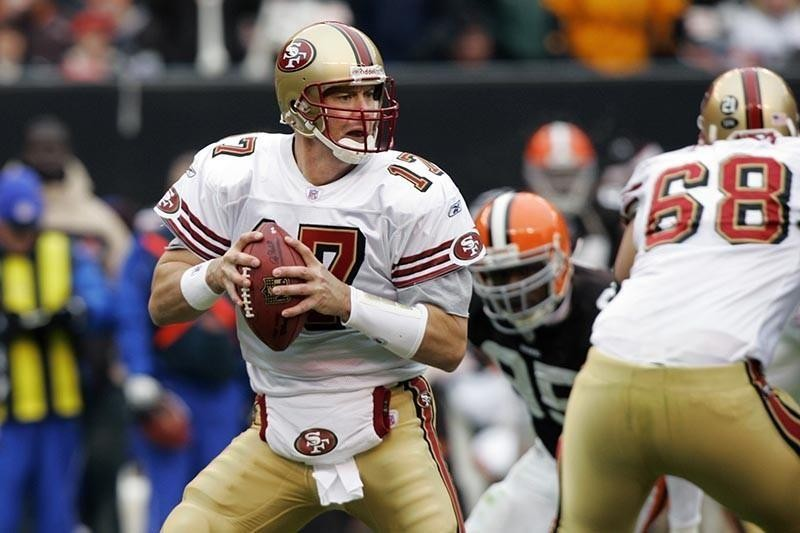 Chris Weinke with San Francisco 49ers in 2007