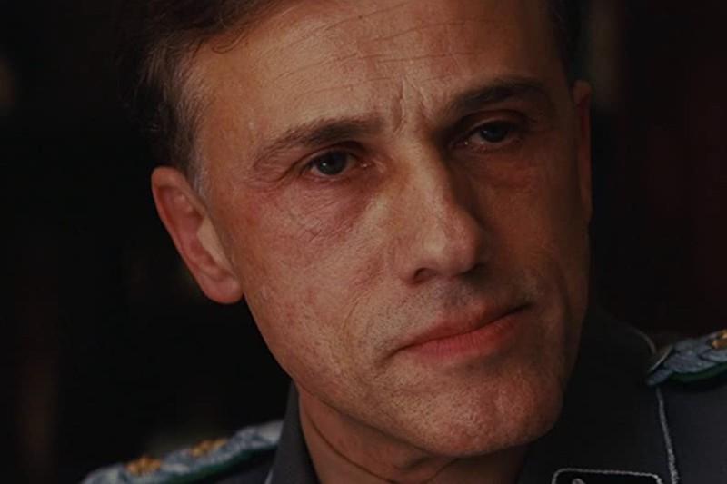 Hans Landa played by Christoph Waltz