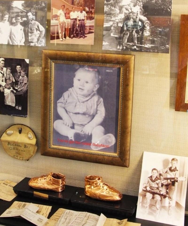 Wayne Newton as a baby