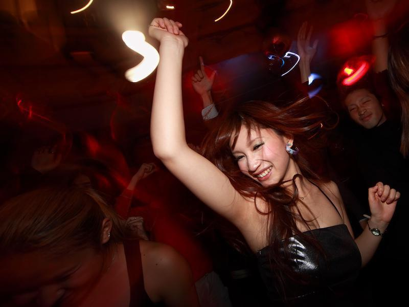 dancing Japan