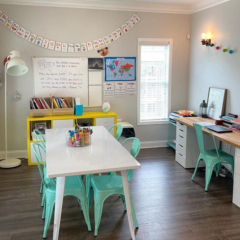 Home office and classroom