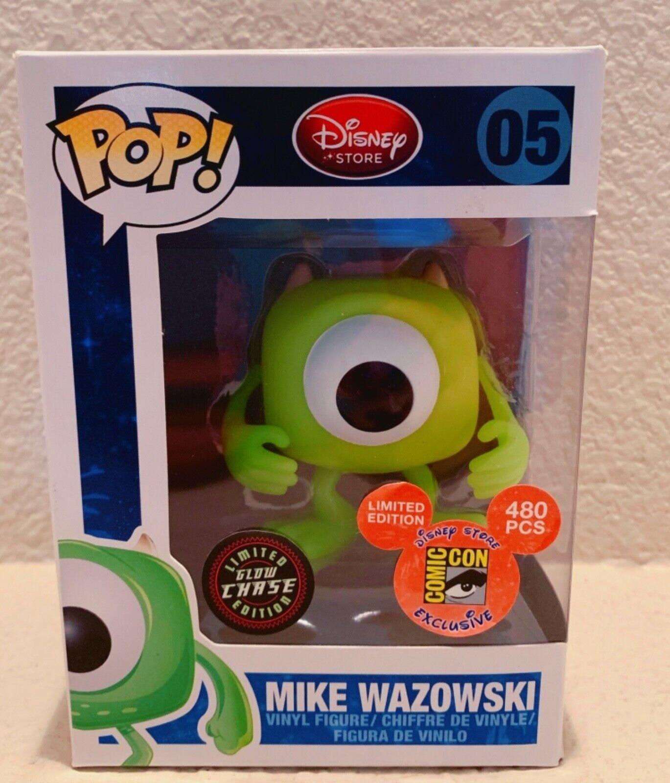 Glow in the Dark Mike Wazowski Funko Pop