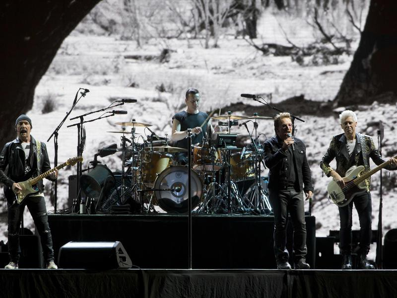 The Edge,Bono,Larry Mullen Jr.,Adam Clayton