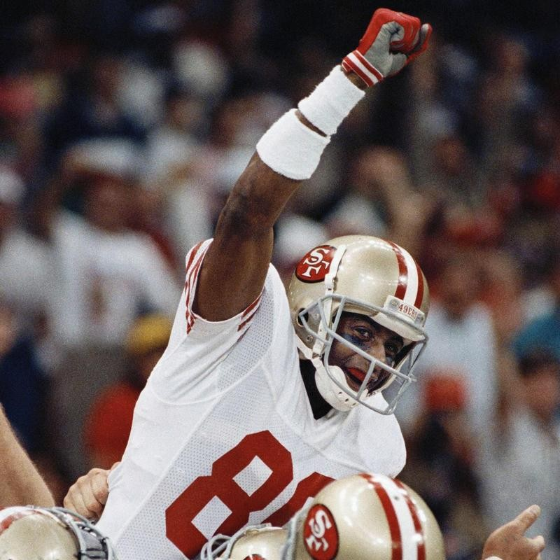 Jerry Rice in Super Bowl XXIV