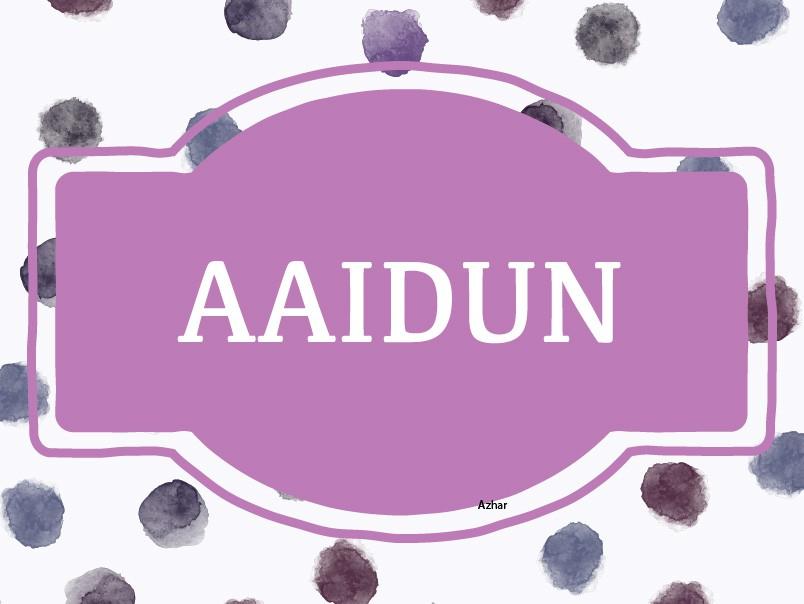 Aaidun