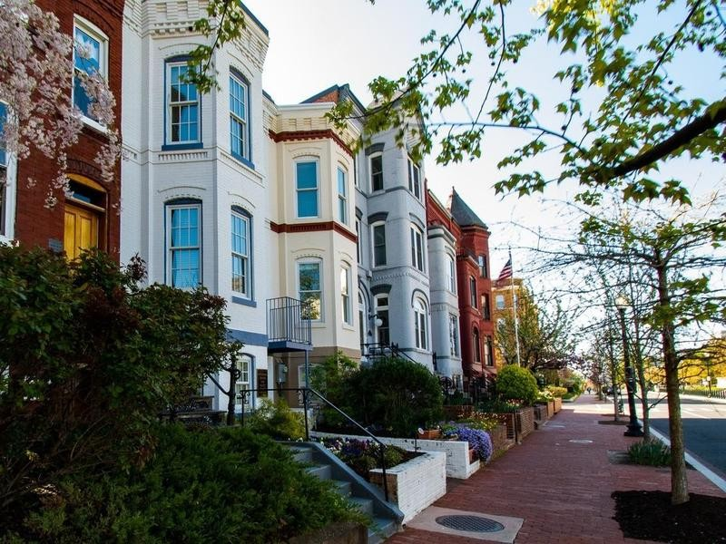 Townhomes in Washington, D.C.