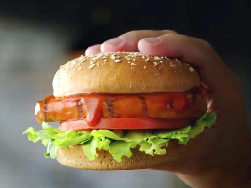 Charbroiled BBQ Chicken Sandwich