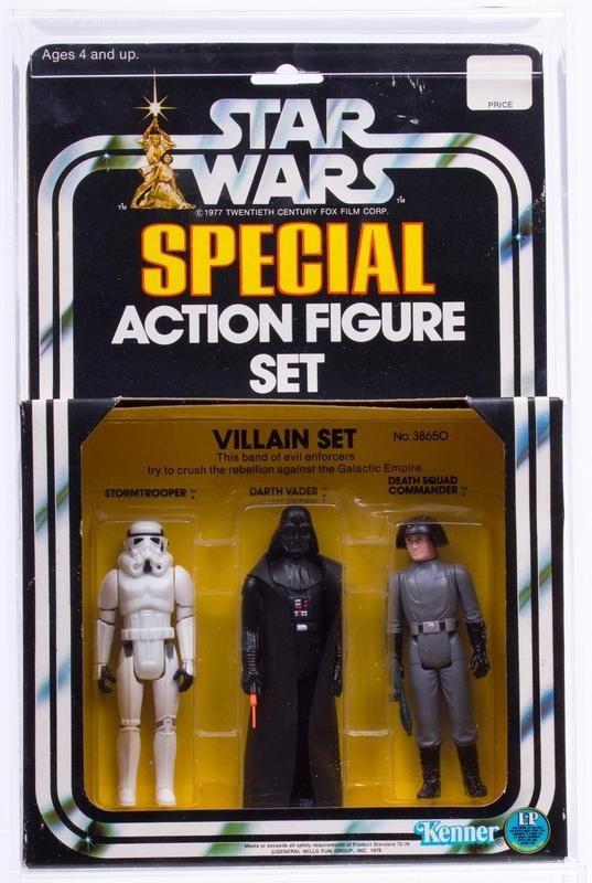 Special Action Figure Set of Villains (1978)