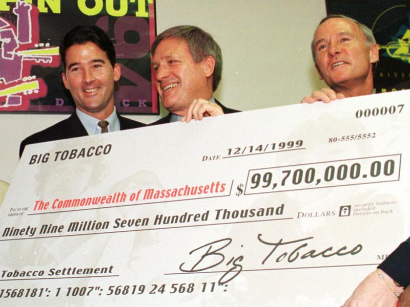 National tobacco settlement
