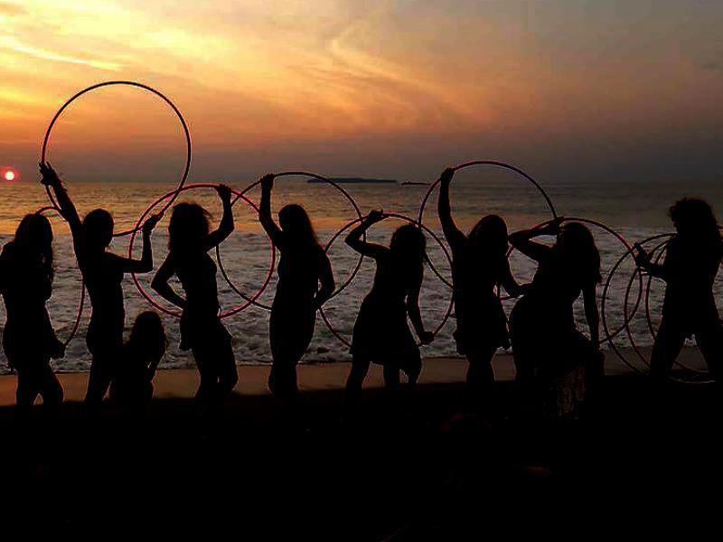 Hula Hooping Yoga Retreats