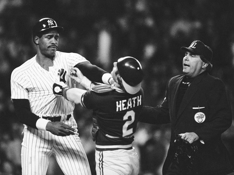 Dave Winfield and Mike Heath
