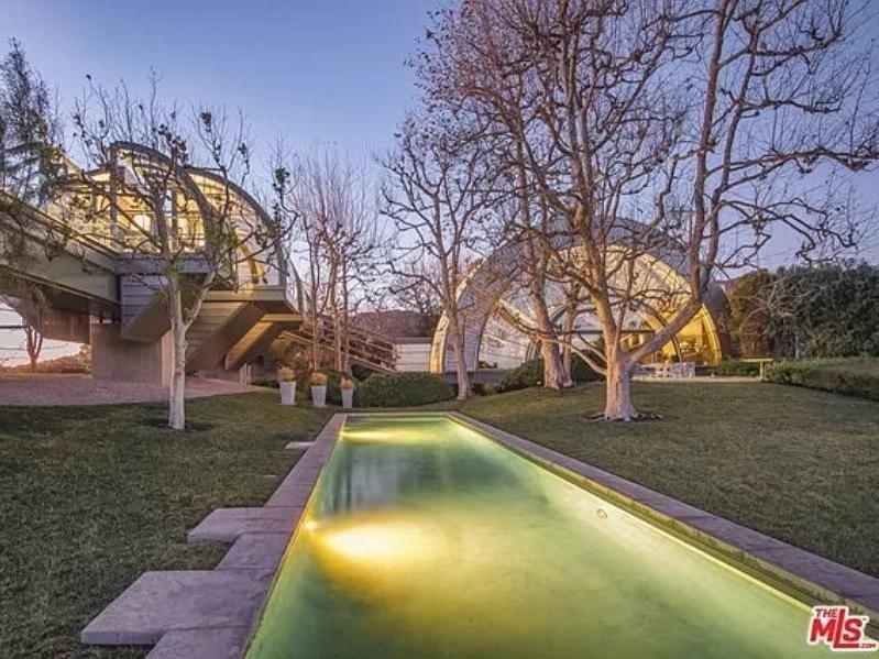 Ed Nile's home in California