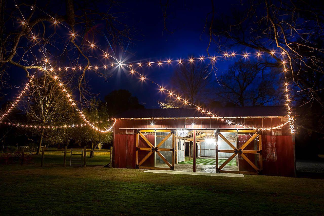 Wedding space at Logtown Plantation