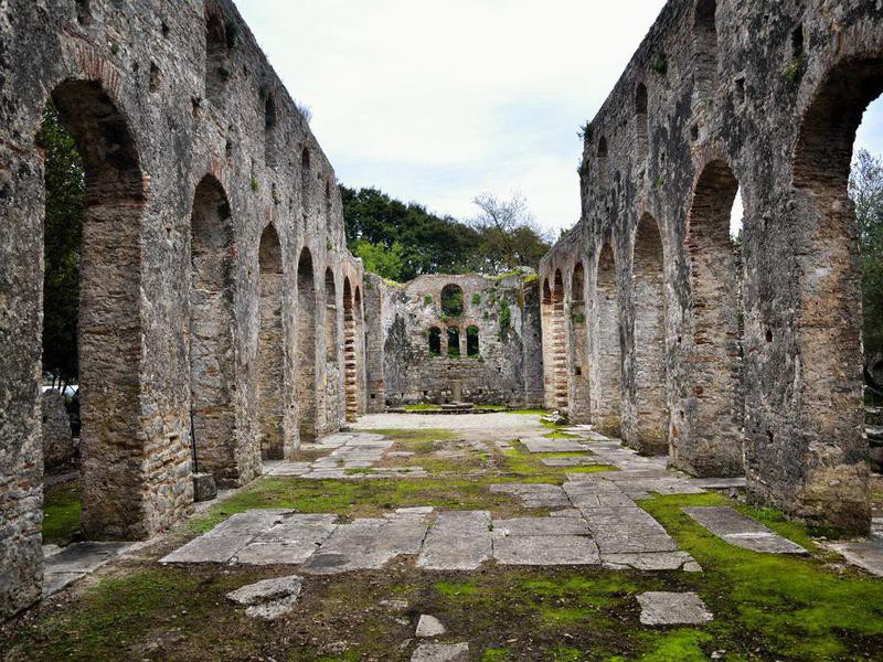 Butrint ruins in Ksamil, Albania