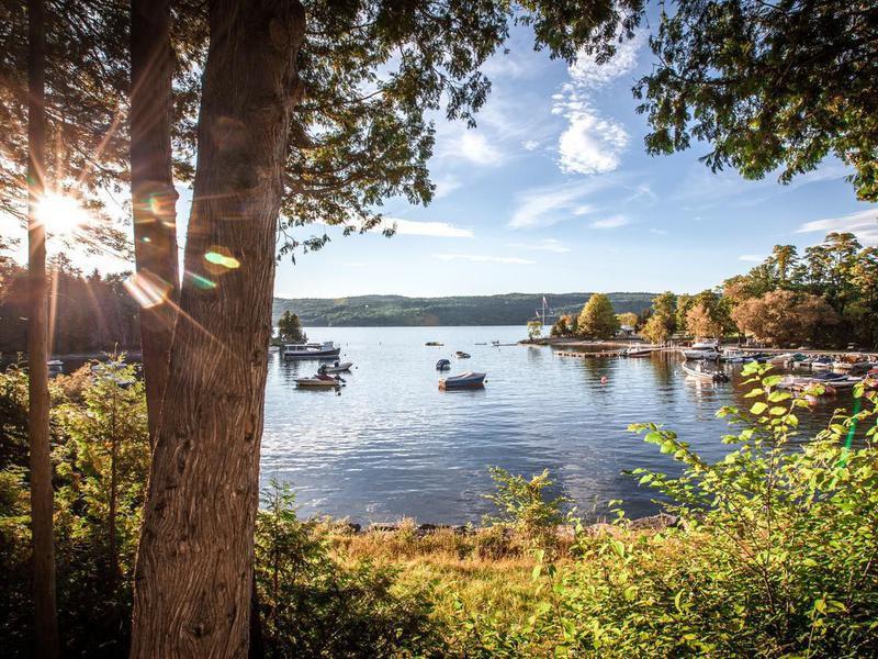 Harbor on Lake Champlain