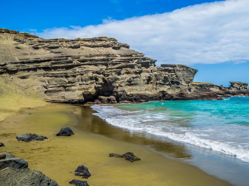Green Sand Beach - Papak?lea