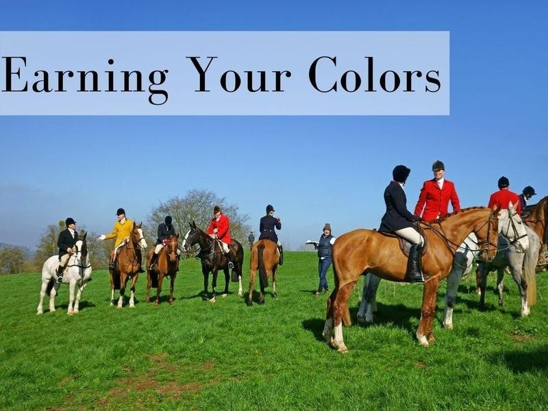 Earning Your Colors