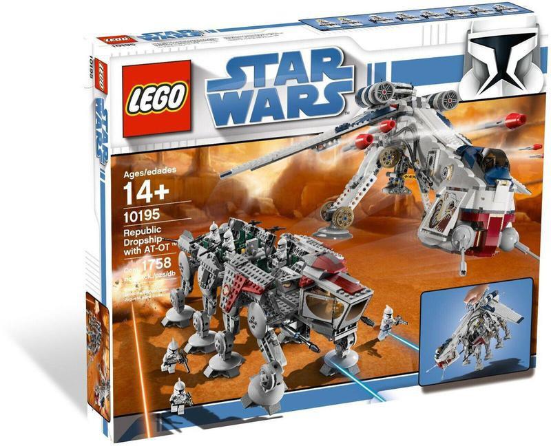 Star Wars Lego Dropship with AT-OT