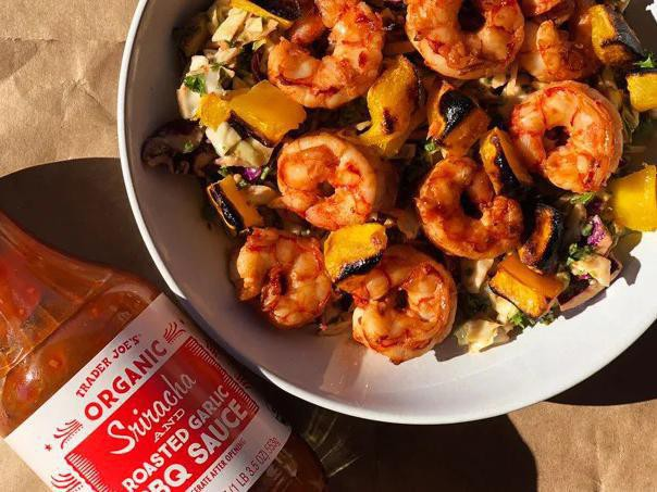 Spicy Shrimp Slaw
