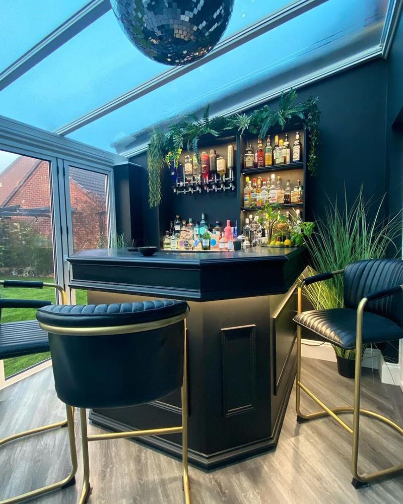 home bar interior