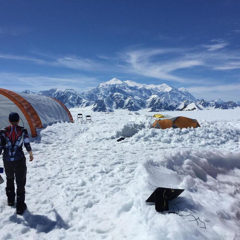Mount Logan Ice Field