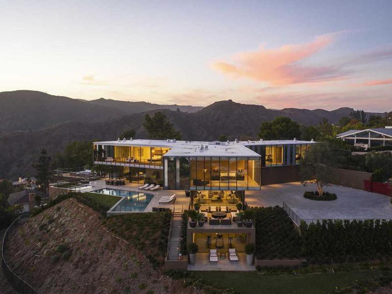 Multimillion dollar home in California
