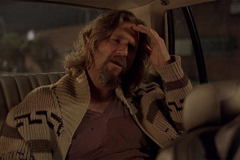 The Dude in a cab