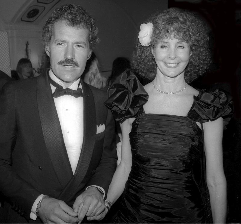 Alex Trebek and Shirley Fonda