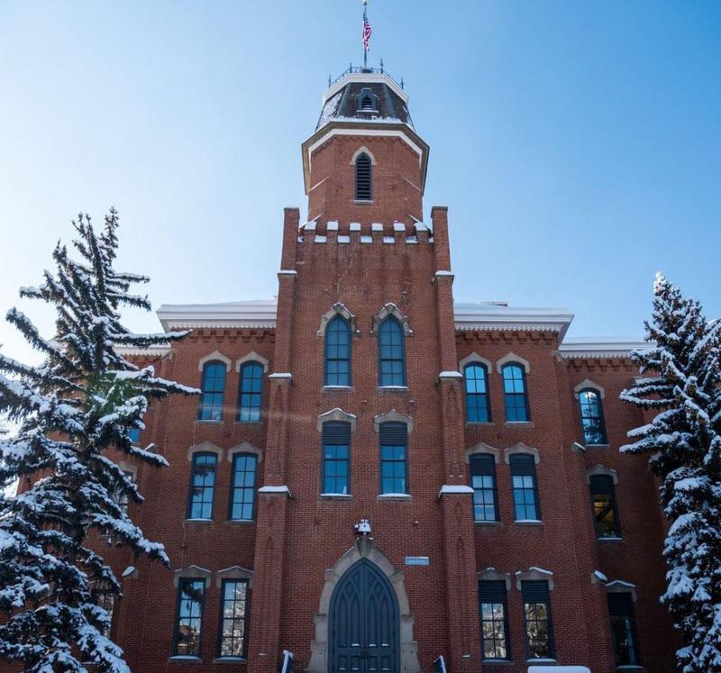 Old Main University of Colorado Boulder