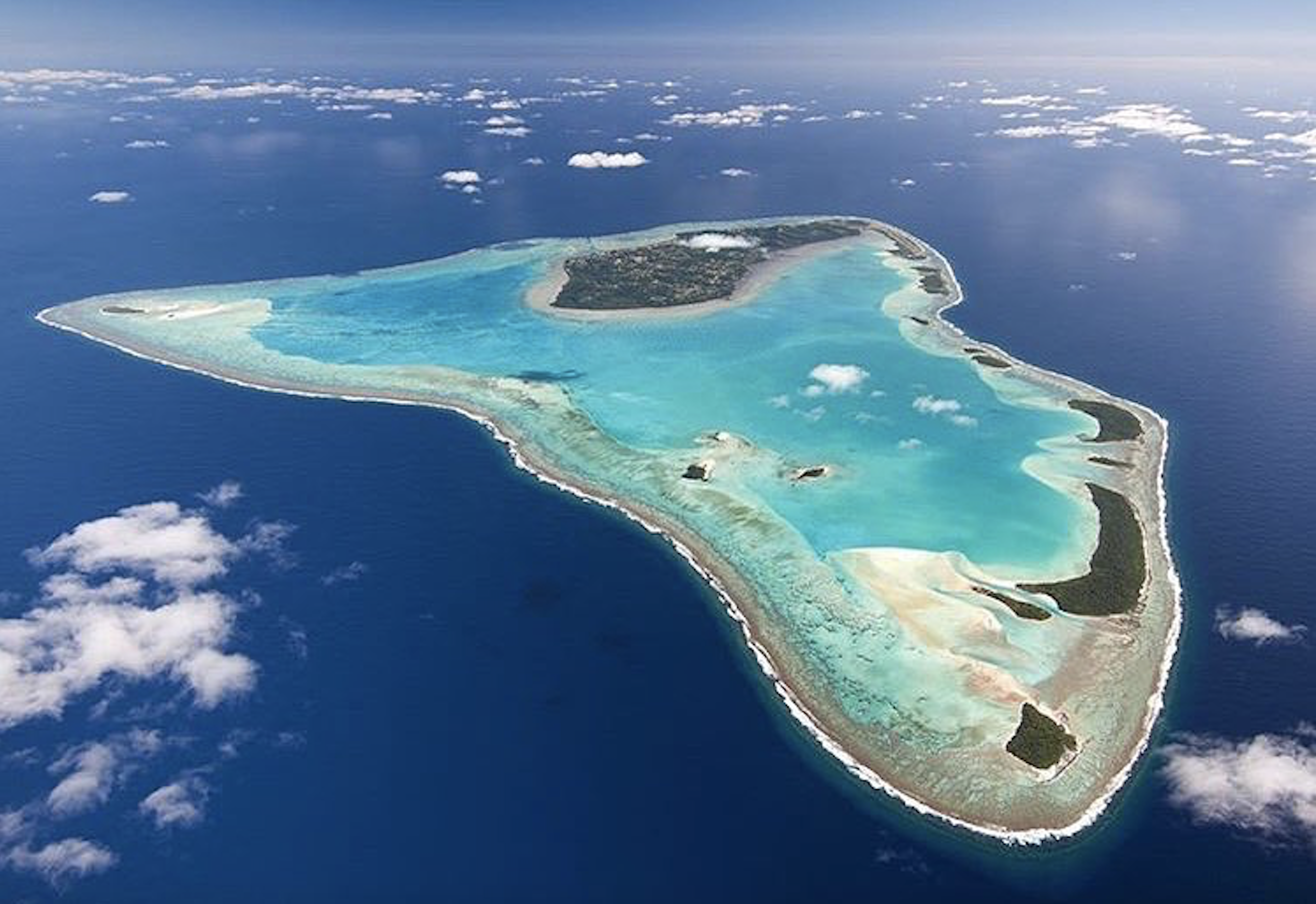 Disappearing Atolls