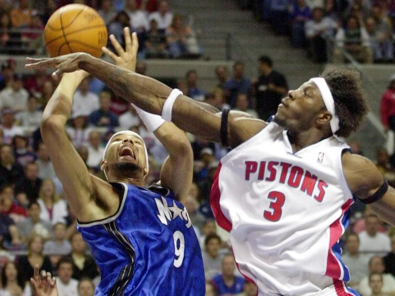 Ben Wallace and Drew Gooden