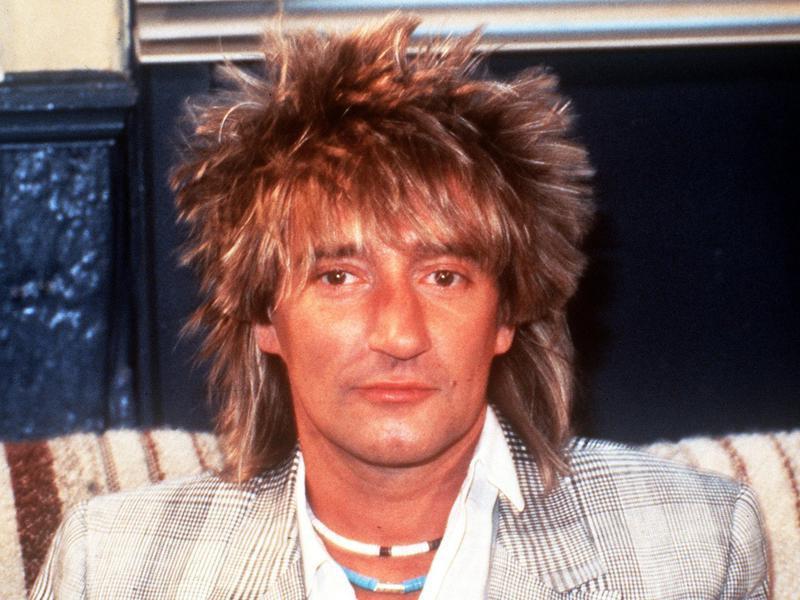 Rod Stewart in 1983