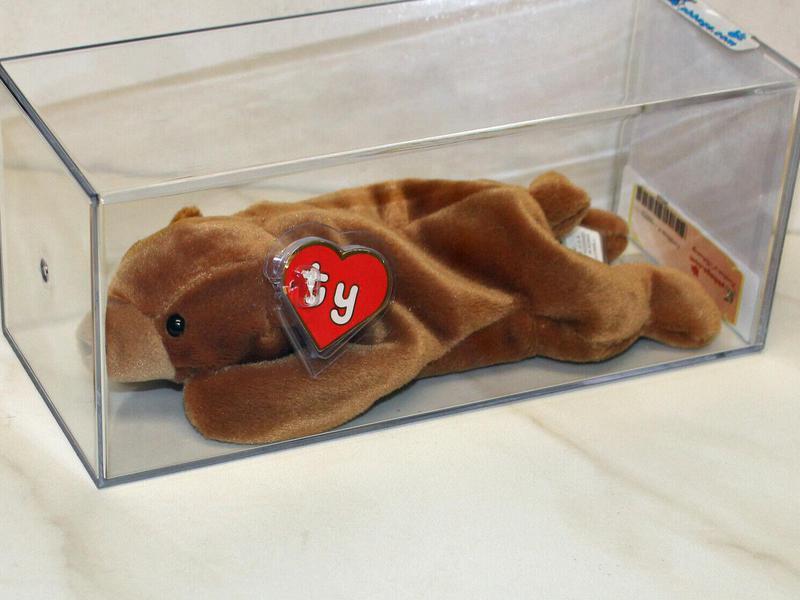 Korean Five-Line Brownie Beanie Baby