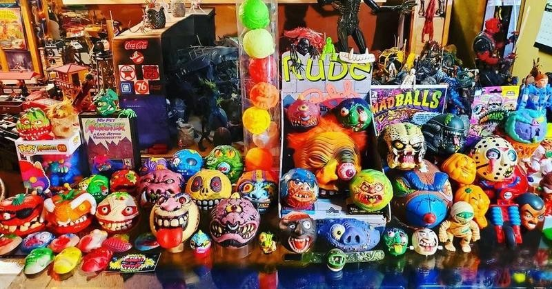 Madballs laid out on counter