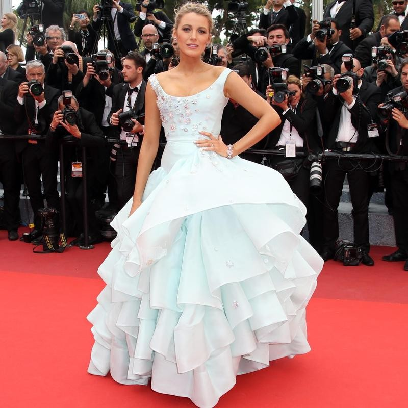 Blake Lively at screening of Ma Loute at film festival in Cannes
