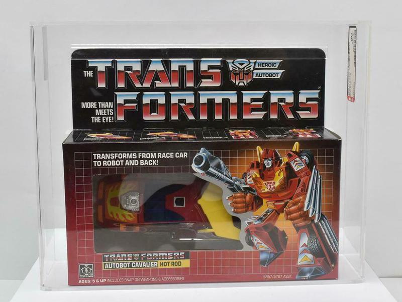 G1 Hot Rod Transformers