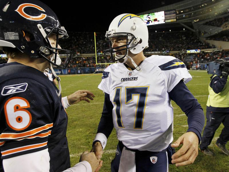 Jay Cutler and Philip Rivers