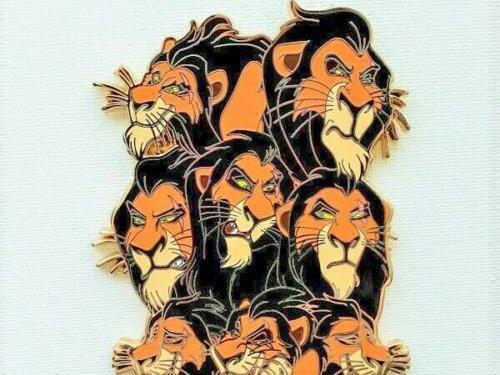 Lion King Disney pins