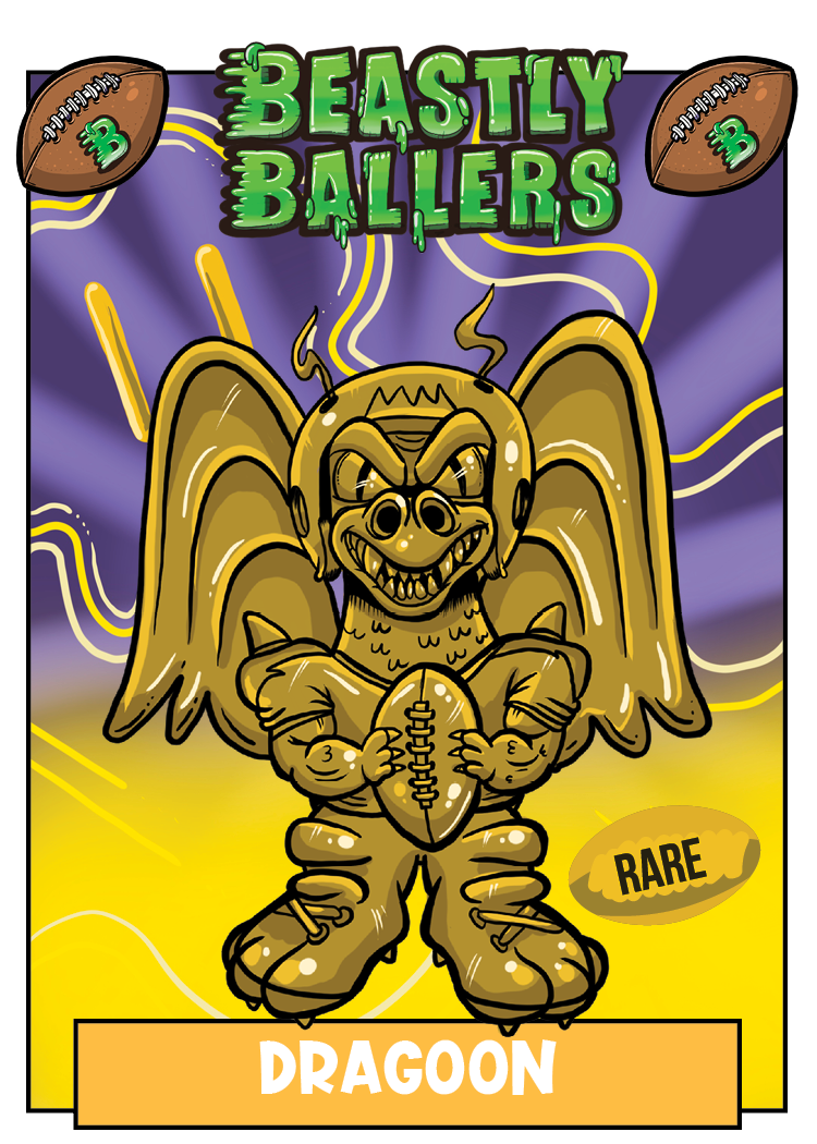 Beastly Ballers Dragoon