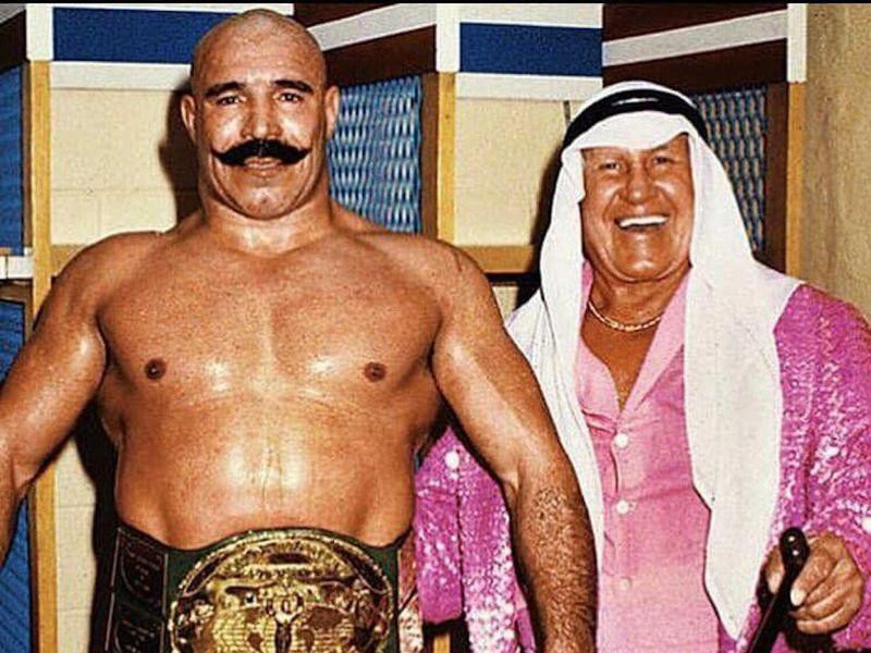 "The Iron Sheik and ""Classy"" Freddie Blassie"