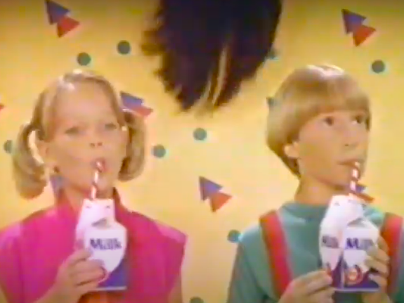 """National Dairy Board """"Milk"""" commercial in 1985"""