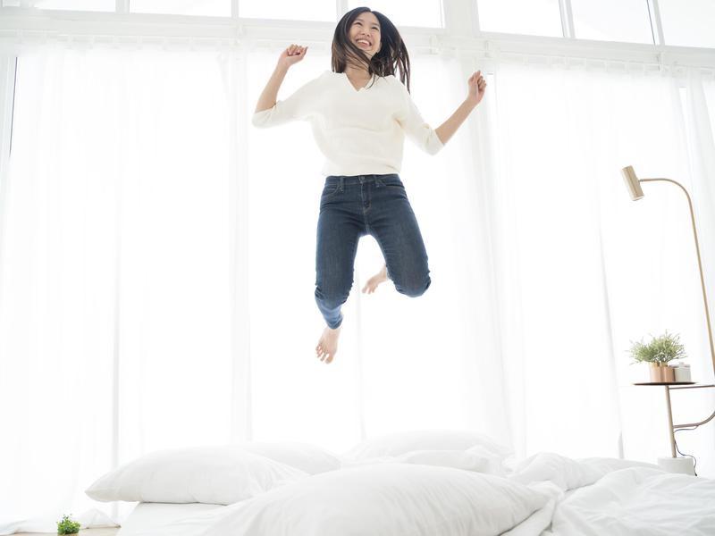 Professional mattress jumper
