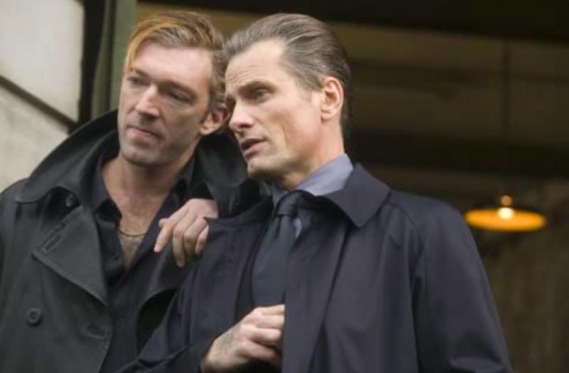 Viggo Mortensen and Vincent Cassel in Eastern Promises