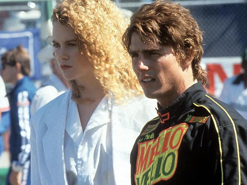 Tom Cruise & Nicole Kidman in Days of Thunder