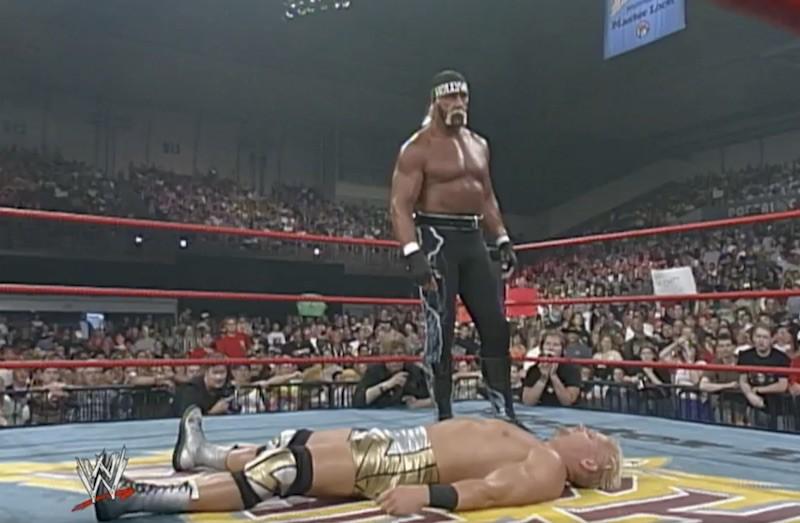 Hulk Hogan and Jeff Jarrett