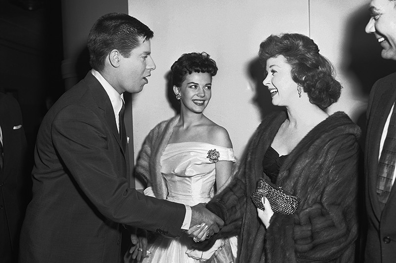 Jerry Lewis and Susan Hayward