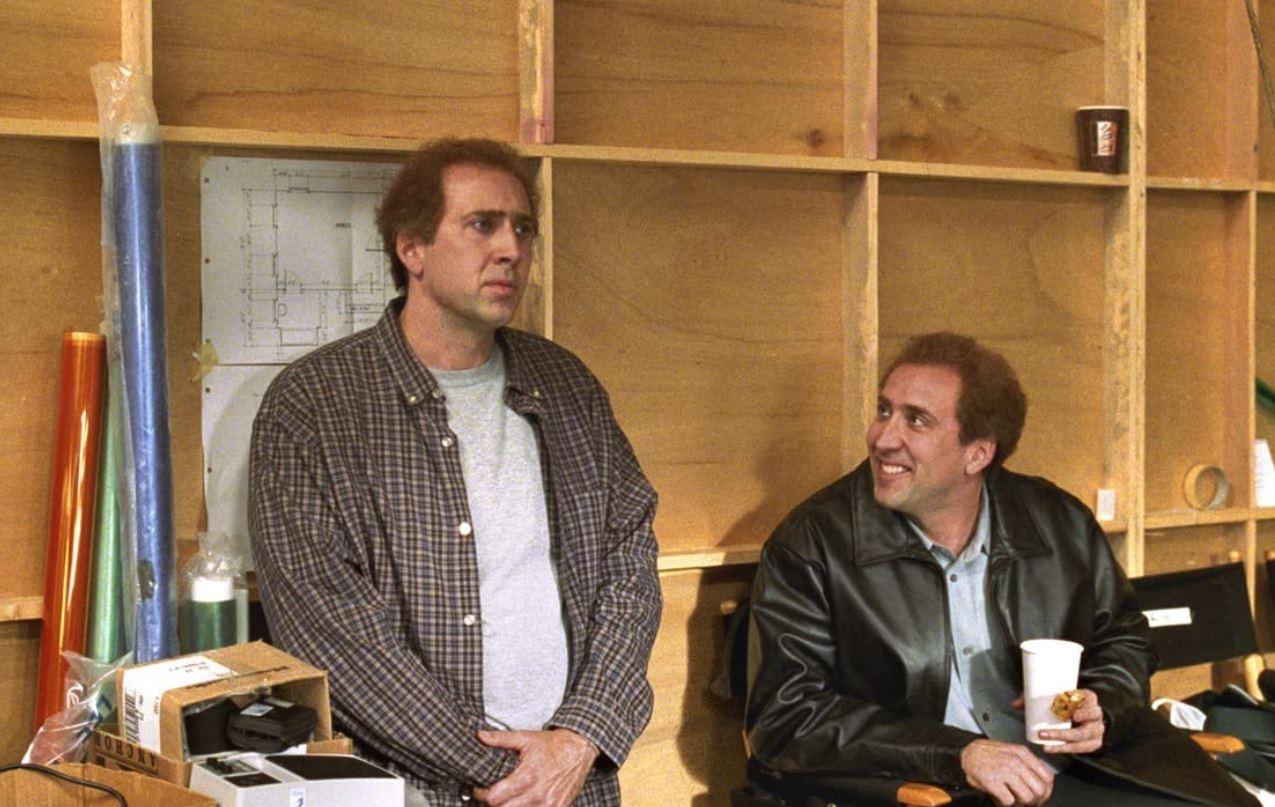 "Nicholas Cage and Nicholas Cage in ""Adaptation"""