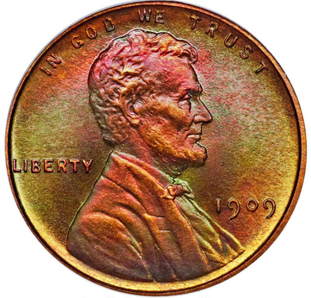 1909 V.D.B. Matte Proof Lincoln Penny