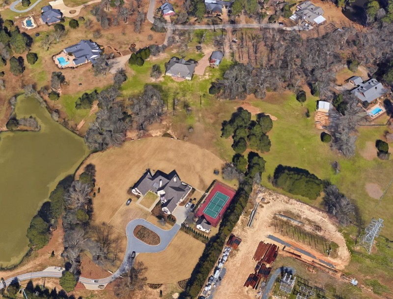 Duck Dynasty family compound in Monroe, Louisiana