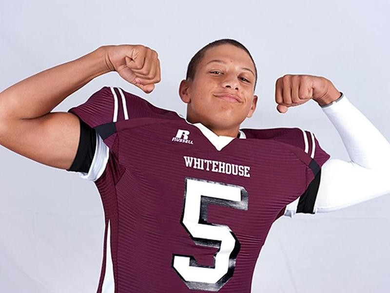 Patrick Mahomes was flexing at Whitehouse High School
